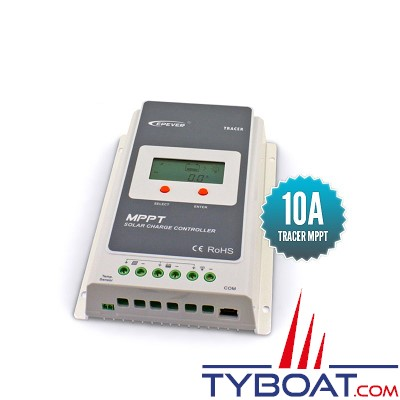 Epever - Régulateur Solaire MPPT TRACER 10A 12/24V