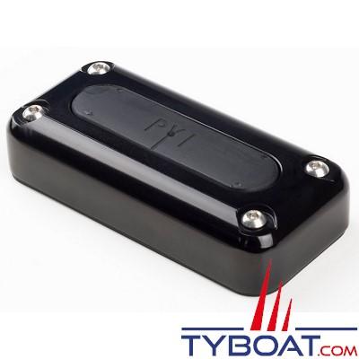SEAVIEW - Passe câble multiple, en alu anodisé noir, étanche, résistant aux UV : Câble de 2 à 17 mm, prise de 35mm