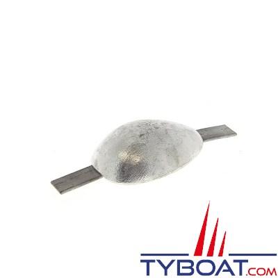 Anode à souder en zinc galva - 1.2KG