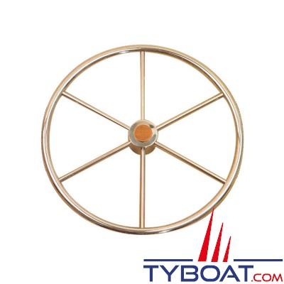 Gouvernail - Barre à roue inox Atlantic - 500 mm