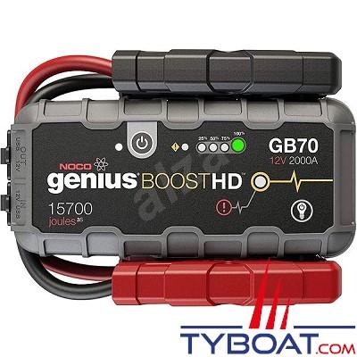 Noco - GB70 - Boosters pour batterie - 2000A - 12V