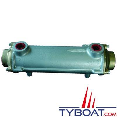 Réfrigérant huile hydraulique / eau de mer débit huile maxi 100 L/min