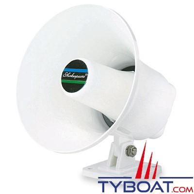 Shakespeare - Haut-parleur - Corne de brume - 15 watts - Plastique blanc