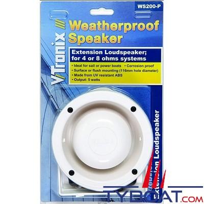 Shakespeare - Haut-parleur extérieur - 5 watts - Boitier ABS - 140 mm