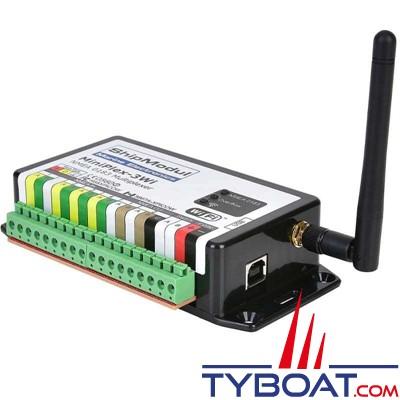 Shipmodul - Multiplexeur MiniPlex-3Wi - NMEA0183 - WIFI - 4 entrées / 2 sorties - USB - AIS