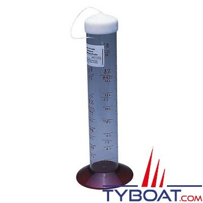 PLASTIMO - Doseur gradué pour huile - Avec bouchon - Hauteur 30 cm