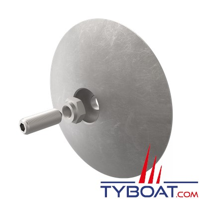 SIDE POWER -  4 1190 - Anode aluminium de rechange Ø95mm pour séries EXS/EXC/EXD