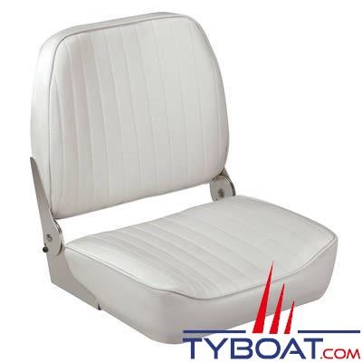 Plastimo - siège rabbatable vinyl - blanc cassé