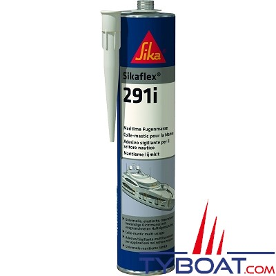 Sika - SIKAFLEX® 291i Mastic colle à usage polyvalent - Blanc - 300 ml