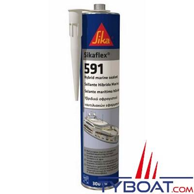 Sika - SIKAFLEX® 591 hybride - Blanc - 300 ml