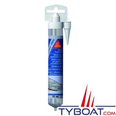 Sikaflex - Colle mastic polyuréthane 291i tube 70 ml noir