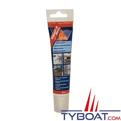 Sikasil P Marine silicone - tube 85ml noir