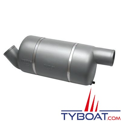 Silencieux d'échappement Vetus MF 125 spécial bateaux hautes performances Ø 125mm