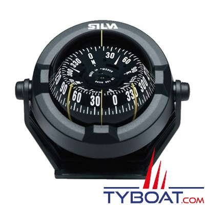 Silva - Compas 100 BC sur étrier pour bateau à moteur.