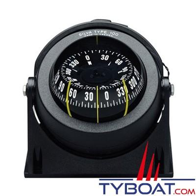 Silva - Compas 100 NBC/FBC sur étrier ou à encastrer pour bateau à moteur.