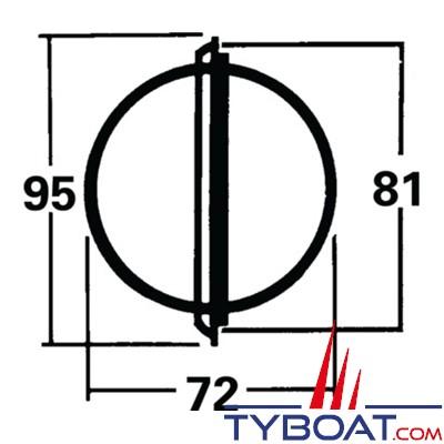 Silva - Compas 70P montage cloison.