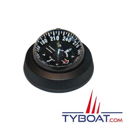 SILVA - Compas de route polyvalent bateau à moteur et voilier à encastrer à plat pont.