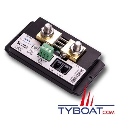 SIMARINE - Module Shunt SC301 / 300 Ampères pour gestionnaire de batterie PICO