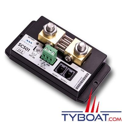 SIMARINE - Module Shunt SC501 / 500 Ampères pour gestionnaire de batterie PICO