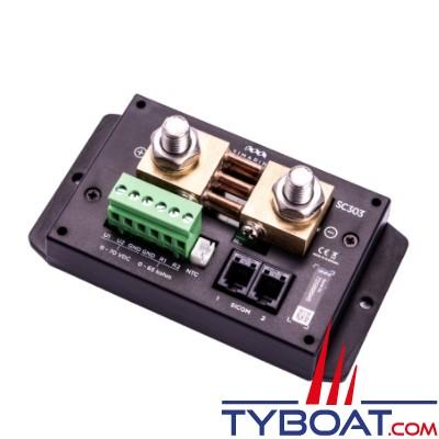 Simarine - Gestionnaire de batterie - Pack PICO Standard - Silver montage en saillie - Avec shunt SC303 + module réservoir ST107