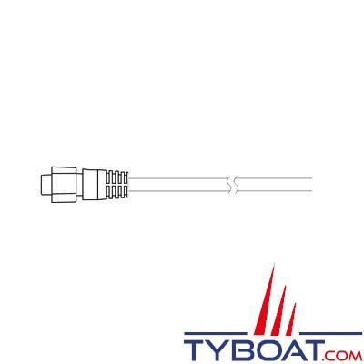 SIMRAD câble d'adaptation TA-BSM2 pour sondes avec prise bleue pour branchement sur le sondeur BSM-2