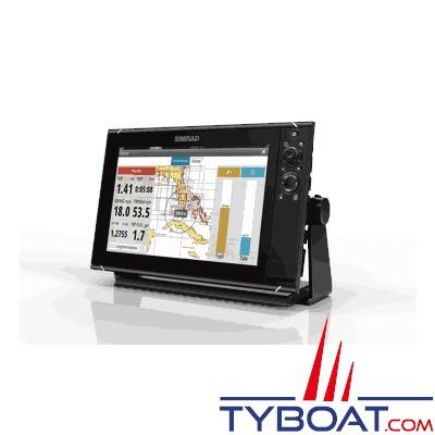 SIMRAD - Multifonctions NSS 12 Evo3 - Hybride (tactile/clavier) - GPS / sondeurs CHIRP double / StructureScan HD intégrés / GoFree