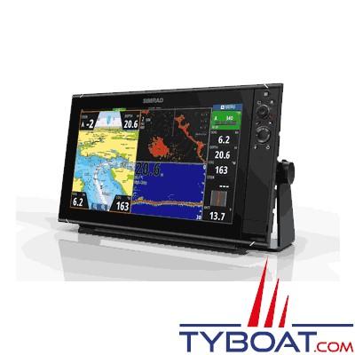 SIMRAD - Multifonctions NSS 16 Evo3 - Hybride (tactile/clavier) - GPS / sondeurs CHIRP double / StructureScan HD intégrés / GoFree