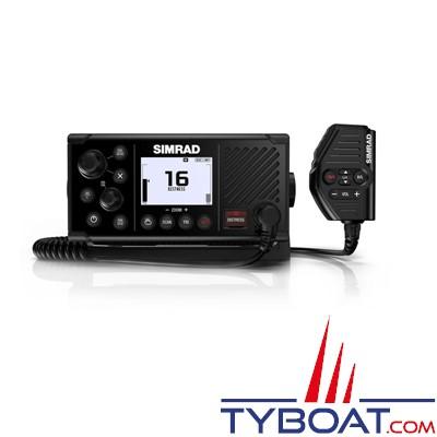 SIMRAD - VHF marine RS40 DSC classe D avec récepteurs AIS et GPS intégrés et prise en charge de combinés sans fil