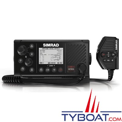 Simrad - VHF RS40-B avec transpondeur AIS (TX/RX) et GPS intégré - NMEA0183 / NMEA2000