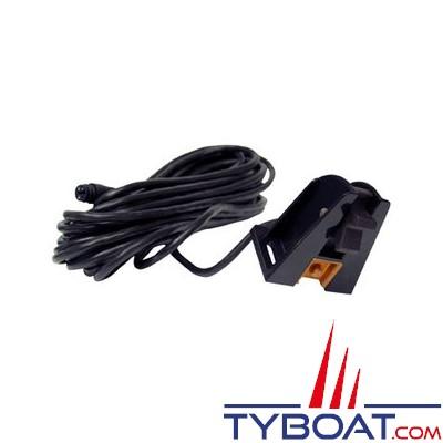 LOWRANCE - Capteur de vitesse et température - Tableau arrière - Connecteur 7 broches bleu