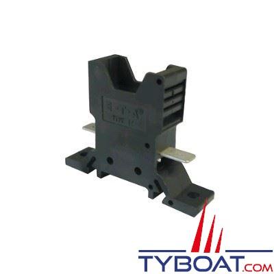 Socle enfichable 1 voie pour interrupteur/disjoncteur ETA type 1170/ 1610 / 227(cosses Fast On)