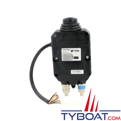 Soderep Ecans 202315 - Coupe-batterie négatif bistable unipolaire 300A à commande 12V