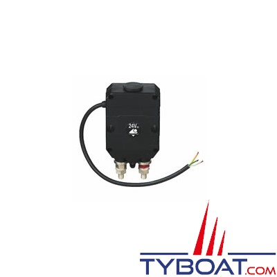 Soderep Ecans - Relais bistable Unipolaire 24 Volts 300 Ampères commande électrique