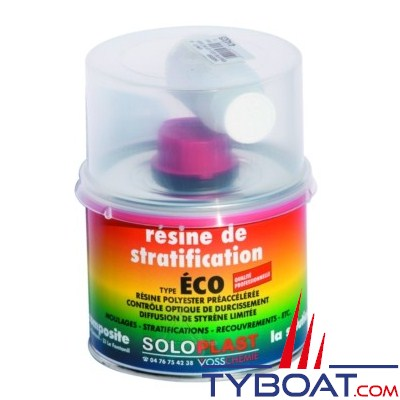 SOLOPLAST - Résine de stratification 1 kg
