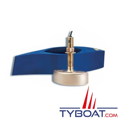 Sonde BroadBand CHIRP Airmar B265LM (basses et moyennes fréquences) DT XID 42-65/80-130 KHz 1KW traversante bronze profondeur et température