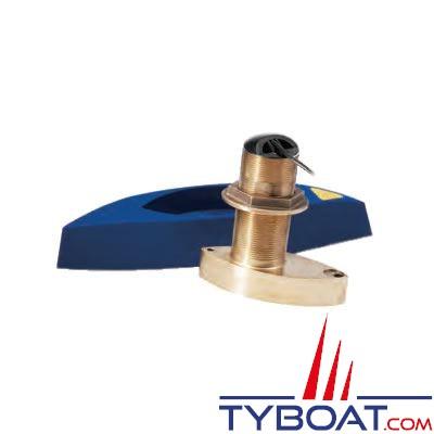 Sonde BroadBand CHIRP Airmar B765LM (basses et moyennes fréquences) DT XID 40-75/80-130 KHz 600 W traversante bronze profondeur et température