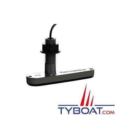 Sonde CHIRP traversante plastique Raymarine CPT-110 pour sondeur Raymarine CP100 et a68/a78/a98/a128