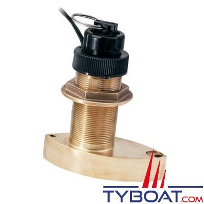 Sonde traversante bronze Furuno SB50200TR-4 (Airmar B744) 600W 50/200 KHz profondeur/vitesse/température