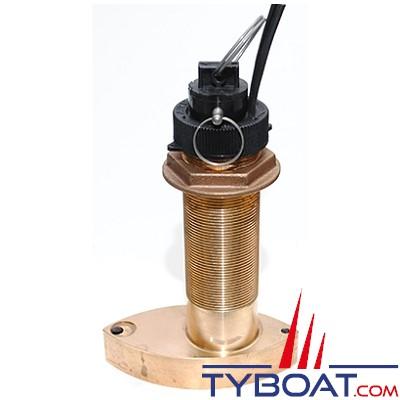 Sonde traversante bronze Furuno SB50200TR-5 (Airmar B744VL) 600W 50/200 KHz profondeur/vitesse/température