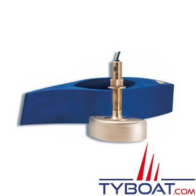 Sonde traversante bronze Garmin (B258) XID 1Kw - 50/200 KHz - prof./temp - connecteur 8 broches