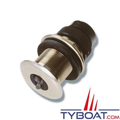 Sonde traversante bronze Raymarine B120-ST600 vitesse/température