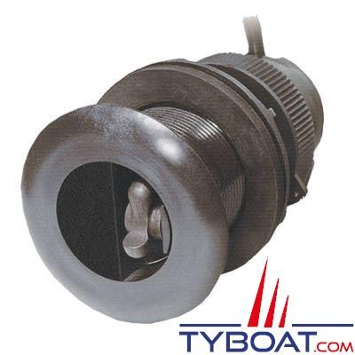 Sonde traversante plastique Airmar DST800 60W - 235 KHz triducer profondeur/vitesse/température - NMEA0183