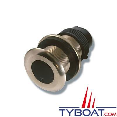 Sonde traversante plastique Airmar DT800 100W 235 KHz - angle céramique  0° - connecteur Micro-C NMEA2000