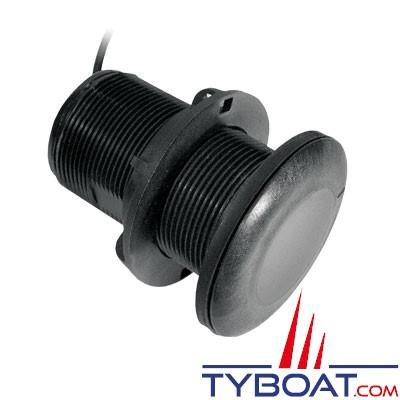 Sonde traversante plastique Airmar P19BL affleurante 375W - 200 KHz - connecteur Bleu Simrad / Lowrance / B&G