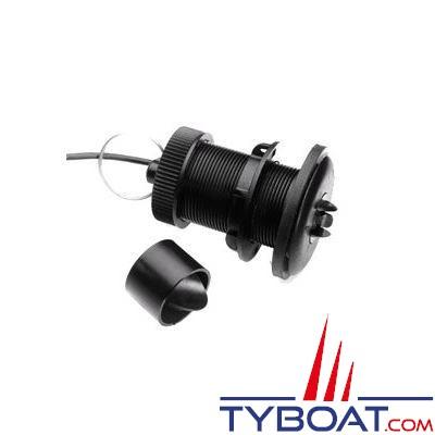 Sonde traversante plastique Raymarine P120-ST600 Vitesse/Température