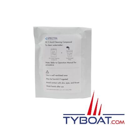 SPECTRA SC-3 - Sachet nettoyant acide SPECTRA SC-3 pour dessalinisateur