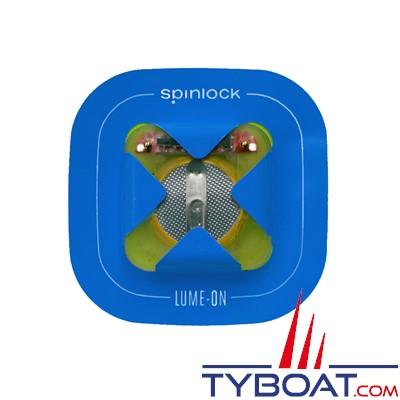 SPINLOCK - DW-LMN LUME ON - Paire de lampes Leds clignotantes - IP 68 - Pour gilet de sauvetage