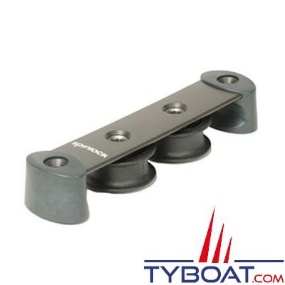 SPINLOCK - ST38/2Y - Boite à réas asymétrique ø 38 mm en composite / 2 réas