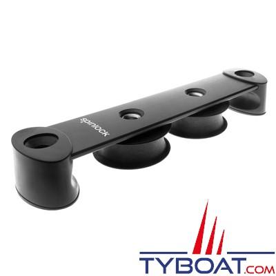SPINLOCK - ST50/2Y - Boite à réas asymétrique ø 50 mm en composite / 2 réas
