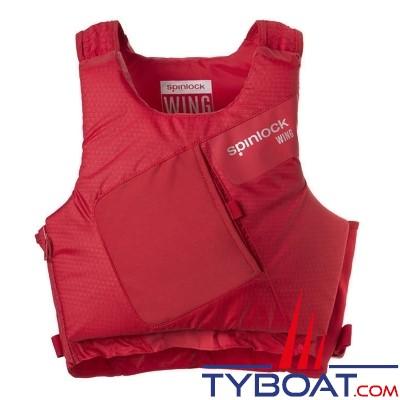 spinlock wing 50n gilet de sauvetage zip lat ral rouge mercure taille l spinlock dw ba. Black Bedroom Furniture Sets. Home Design Ideas